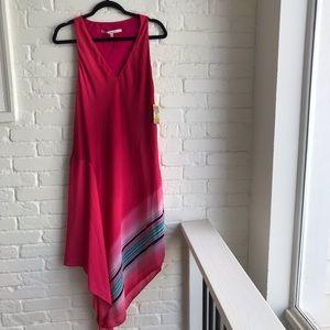 New NWT Rachael Roy Ombre Azalea Dress Medium